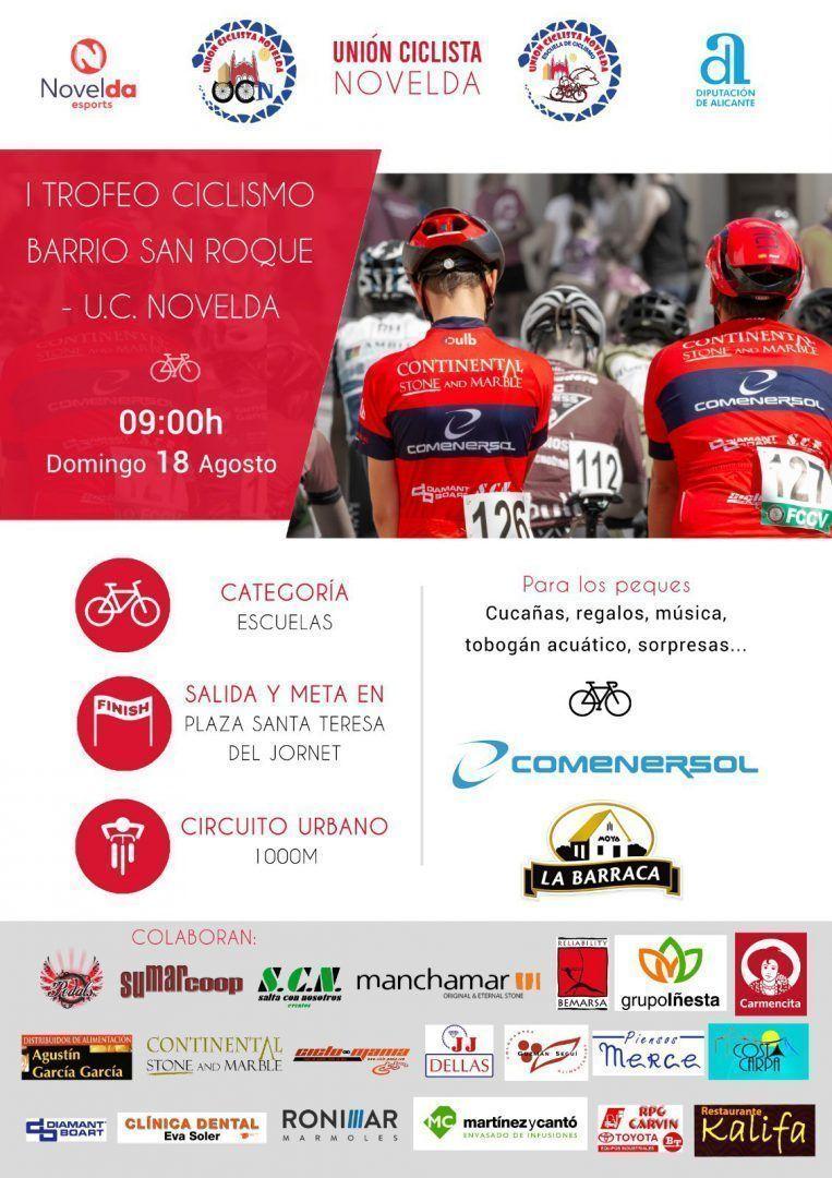 Ayuntamiento de Novelda IMG-20190731-WA0002 I Trofeu Ciclisme Barri de Sant Roque O.C. Novelda