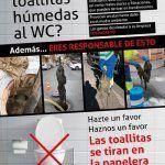 Ayuntamiento de Novelda Cartel-ok--150x150 Ayuntamiento y Aqualia inician una campaña contra el vertido de toallitas al alcantarillado