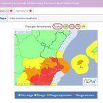 Ayuntamiento de Novelda captura-aemet-1-150x150 Novelda decreta el cierre de colegios, parques e instalaciones deportivas ante el riesgo de fuertes lluvias