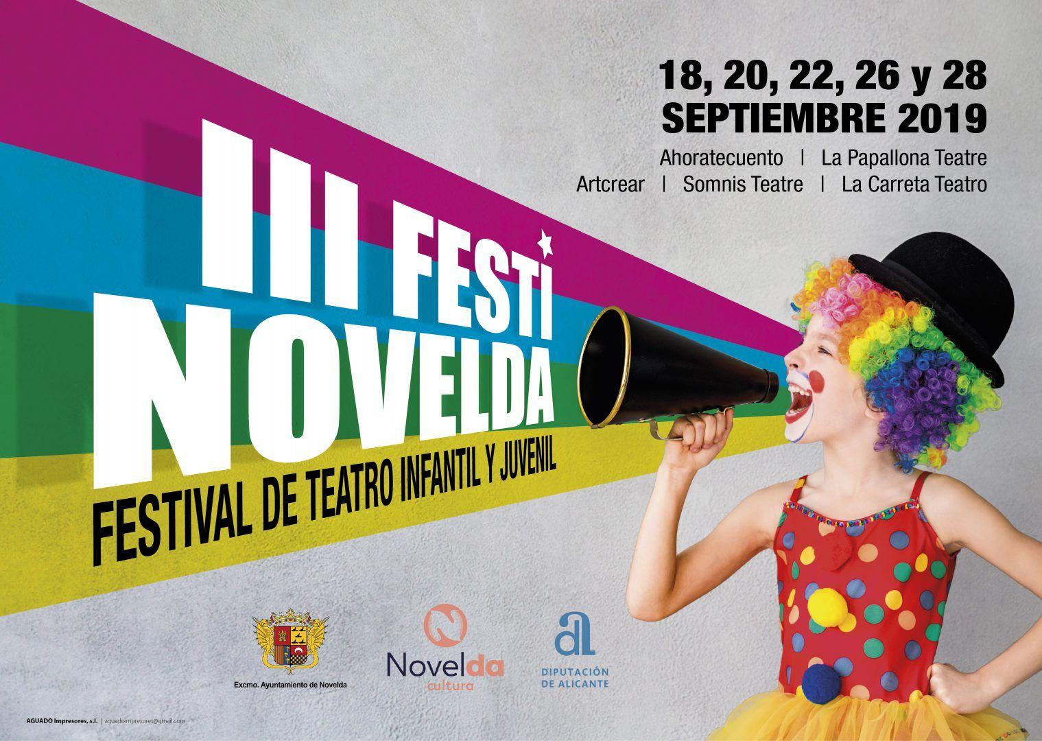 Ayuntamiento de Novelda cartel-IIIFestinovelda-2019-01-2 III Festinovelda
