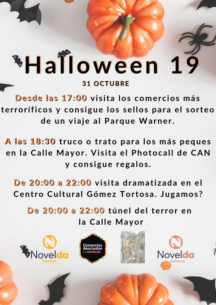 Ayuntamiento de Novelda Halloween-01-724x1024 III Festinovelda