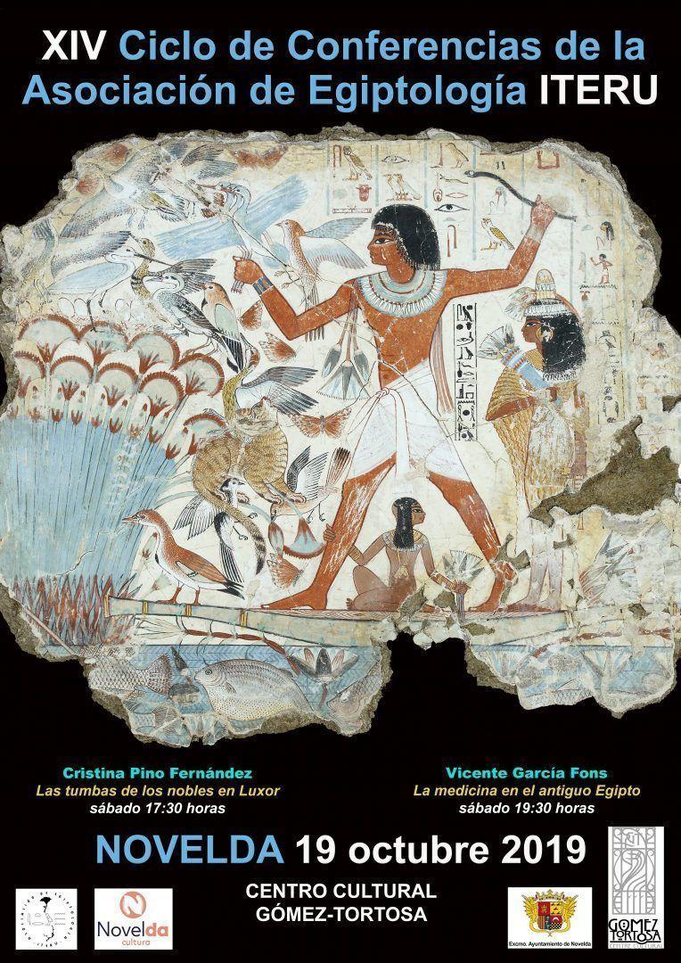 Ayuntamiento de Novelda Jornadas-Egiptología-iteru XIV Cicle de Conferències de l'Associació de Egiptología ITERU