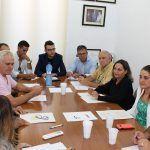 Ayuntamiento de Novelda Reunion-ayto-150x150 Los alcaldes de la comarca y el Consejo Regulador  trasladan a la consellera de Agricultura la difícil situación de la uva de mesa