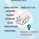 Ayuntamiento de Novelda cartel-jornada-ok-150x150 El Casal de la Juventud acoge un encuentro de artistas locales