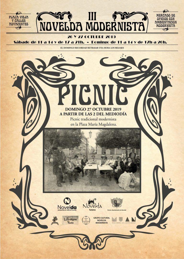 Ayuntamiento de Novelda picnic Picnic Tradicional Modernista