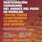 Ayuntamiento de Novelda Cartel-PGOU-150x150 El avance del PGOU se abre a la participación ciudadana