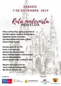 Ayuntamiento de Novelda Cartel-ruta-Modernista-212x300 Agenda turística
