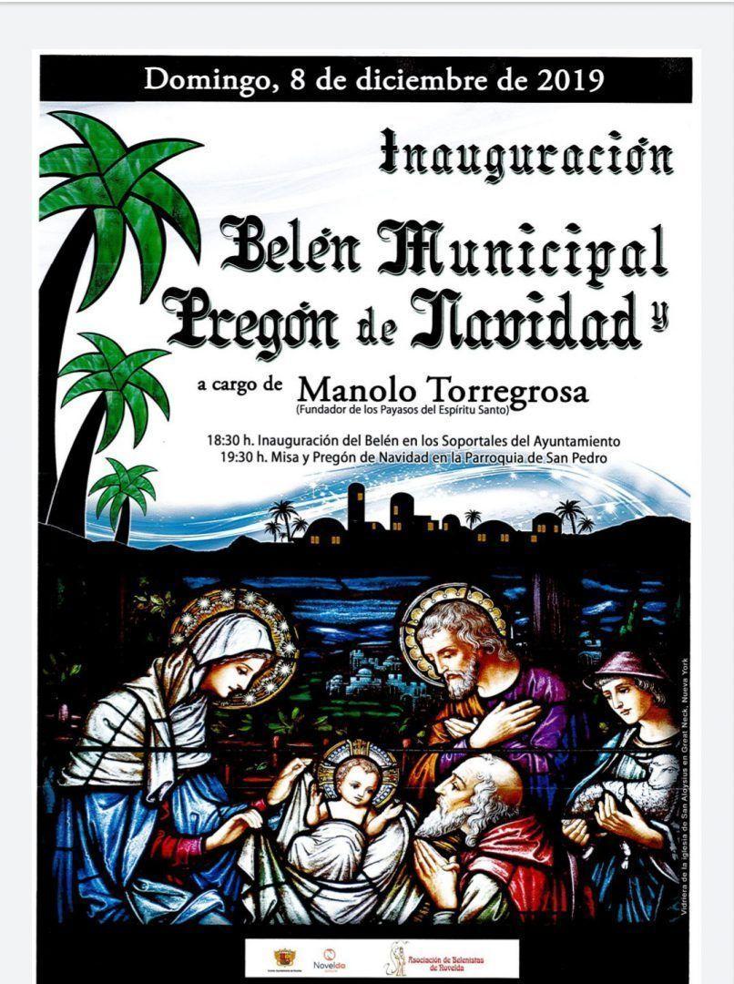 Ayuntamiento de Novelda Inaguración-belén Inauguració Belén Municipal i Pregó de Nadal