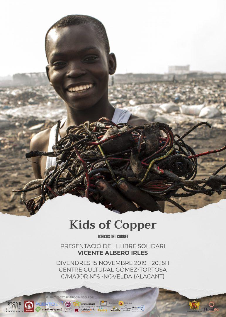 Ayuntamiento de Novelda Kids-of-Cooper.-Vte.-Albero Presentación del libro Kids of Copper