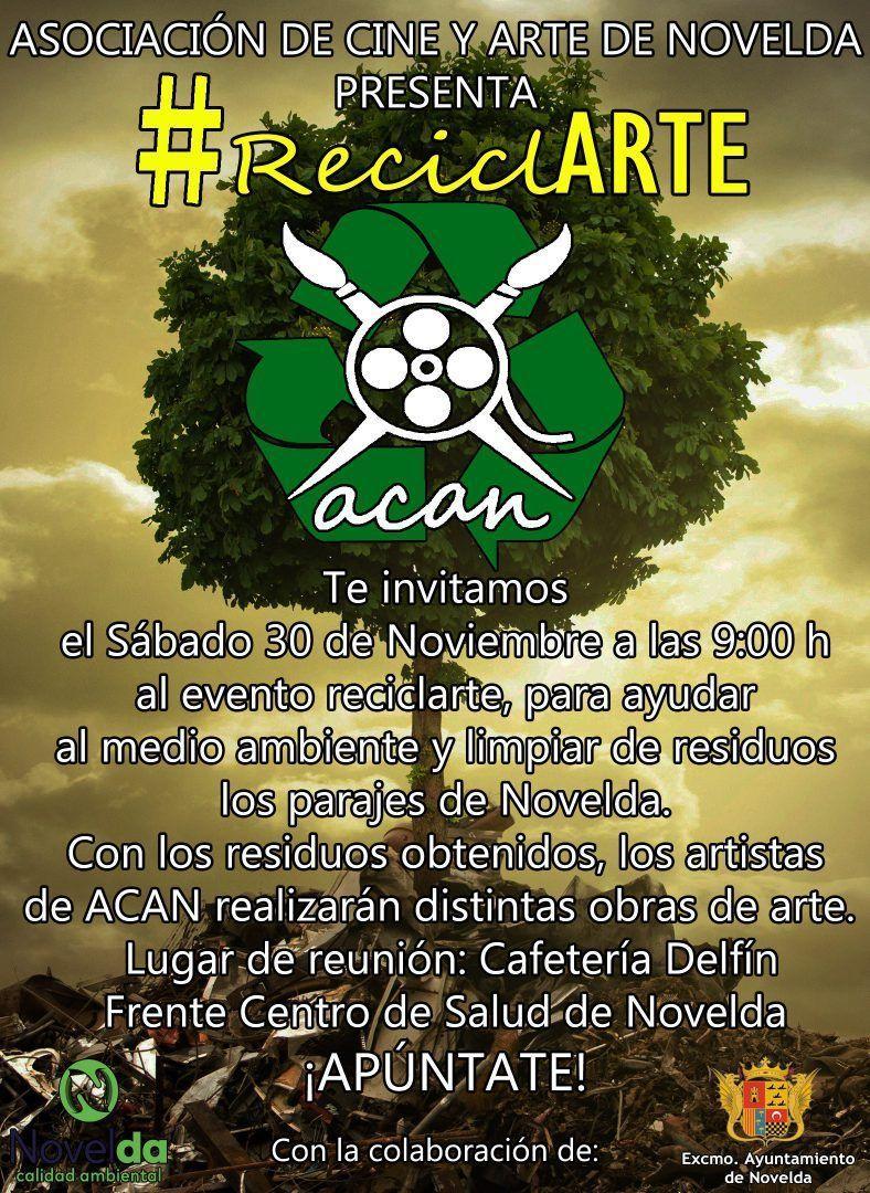 Ayuntamiento de Novelda RecicARTE ReciclARTE