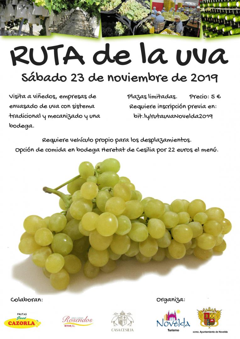 Ayuntamiento de Novelda Ruta-de-la-uva-2019 Ruta del Raïm