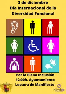 Ayuntamiento de Novelda cartel-diversidad-212x300 Día Internacional de la Diversidad Funcional