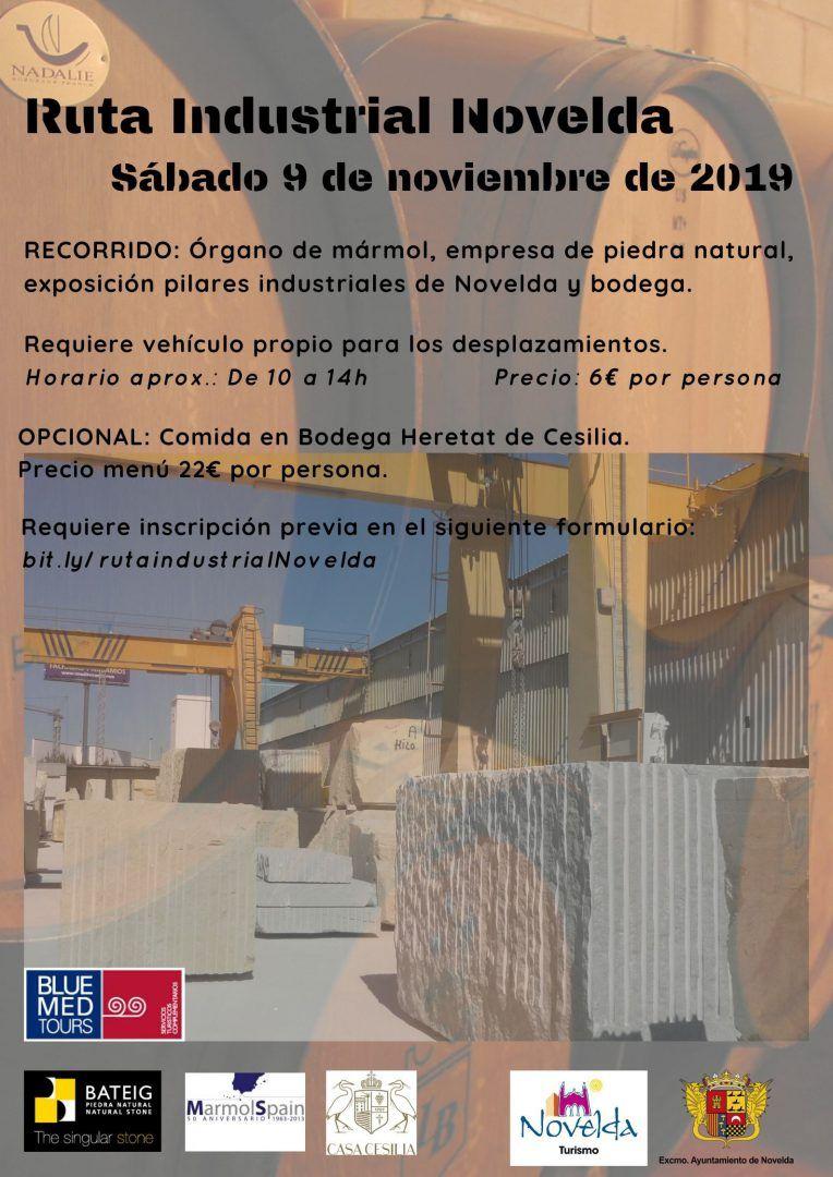Ayuntamiento de Novelda ruta-industrial-2019 Ruta Industrial Novelda
