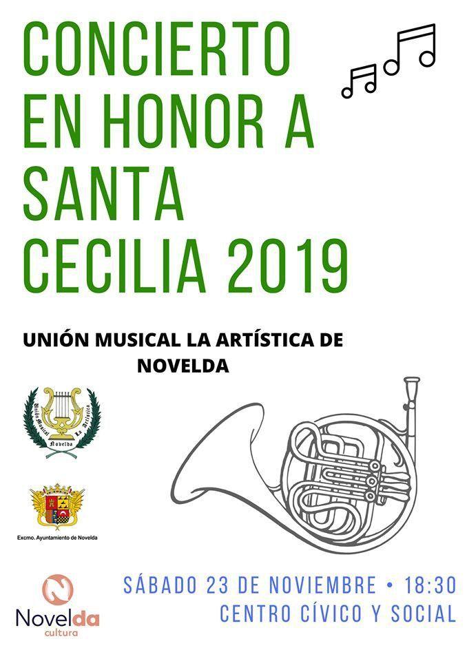Ayuntamiento de Novelda st-cecilia Concierto en honor de Santa Cecilia