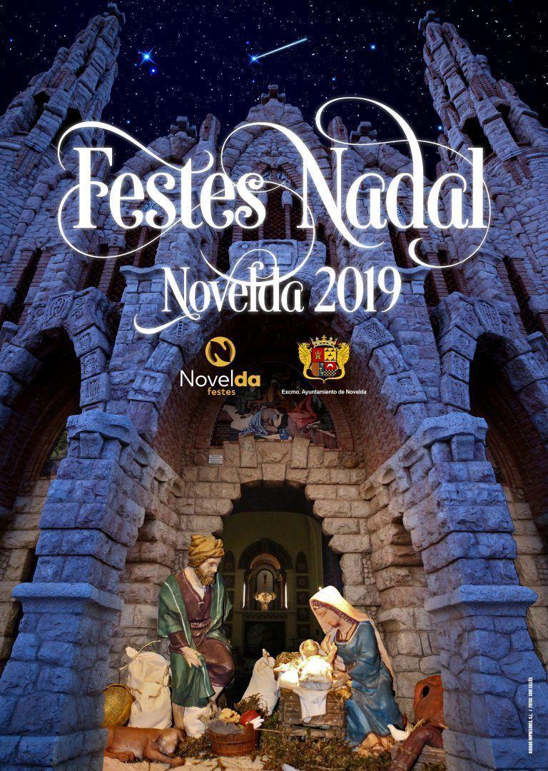 Ayuntamiento de Novelda CARTEL-NAVIDAD-2019-1 Programación Fiestas navideñas 2019-2020