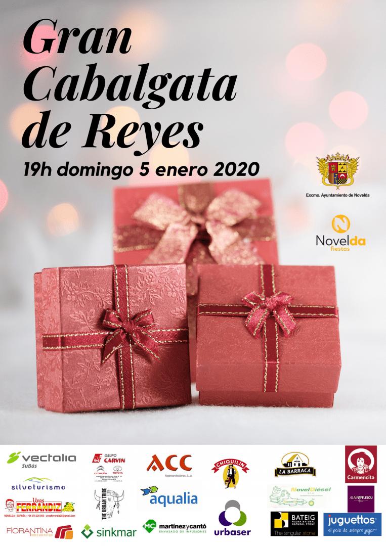 Ayuntamiento de Novelda Cabalgata-Reyes-2020 Gran Cavalcada de Reis