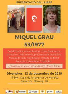 """Ayuntamiento de Novelda Libro-Grau-web-218x300 Presentación del libro """"Miquel Grau 53/1977"""""""