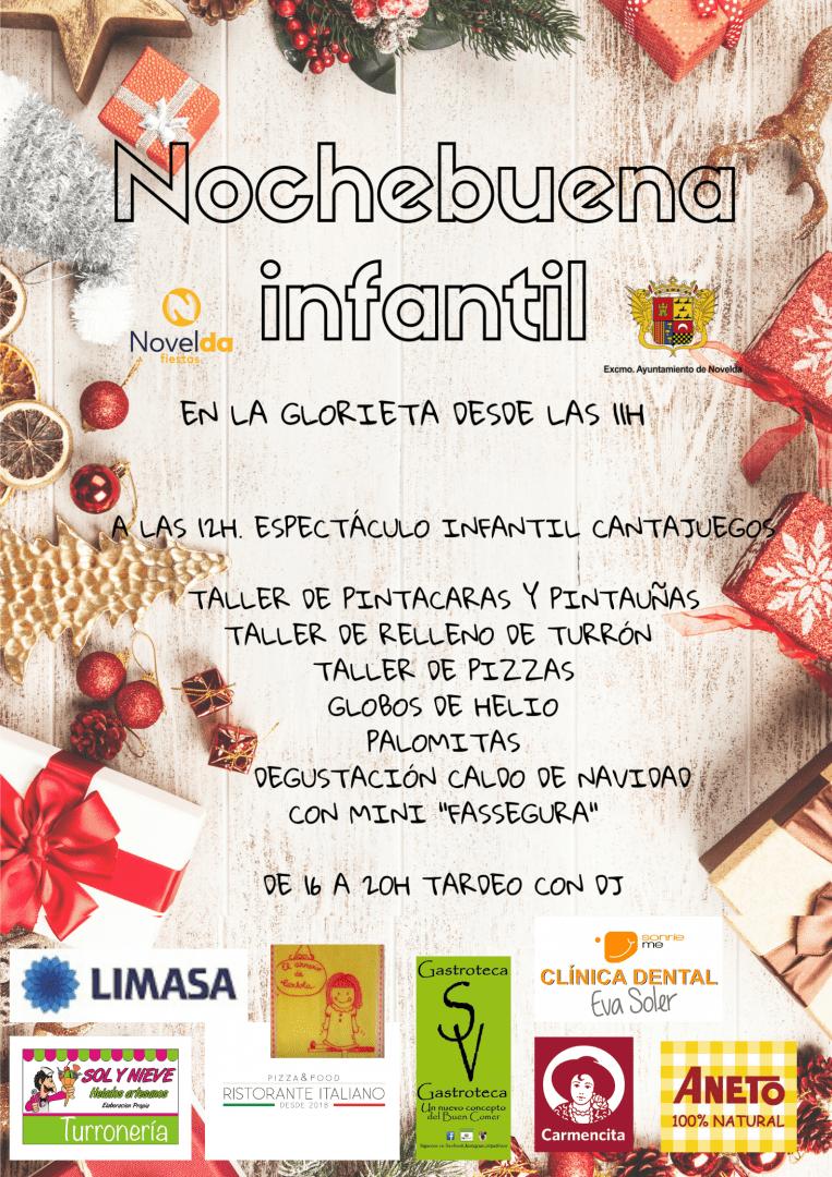 Ayuntamiento de Novelda Nochebuena-infantil NocheBuena Infantil