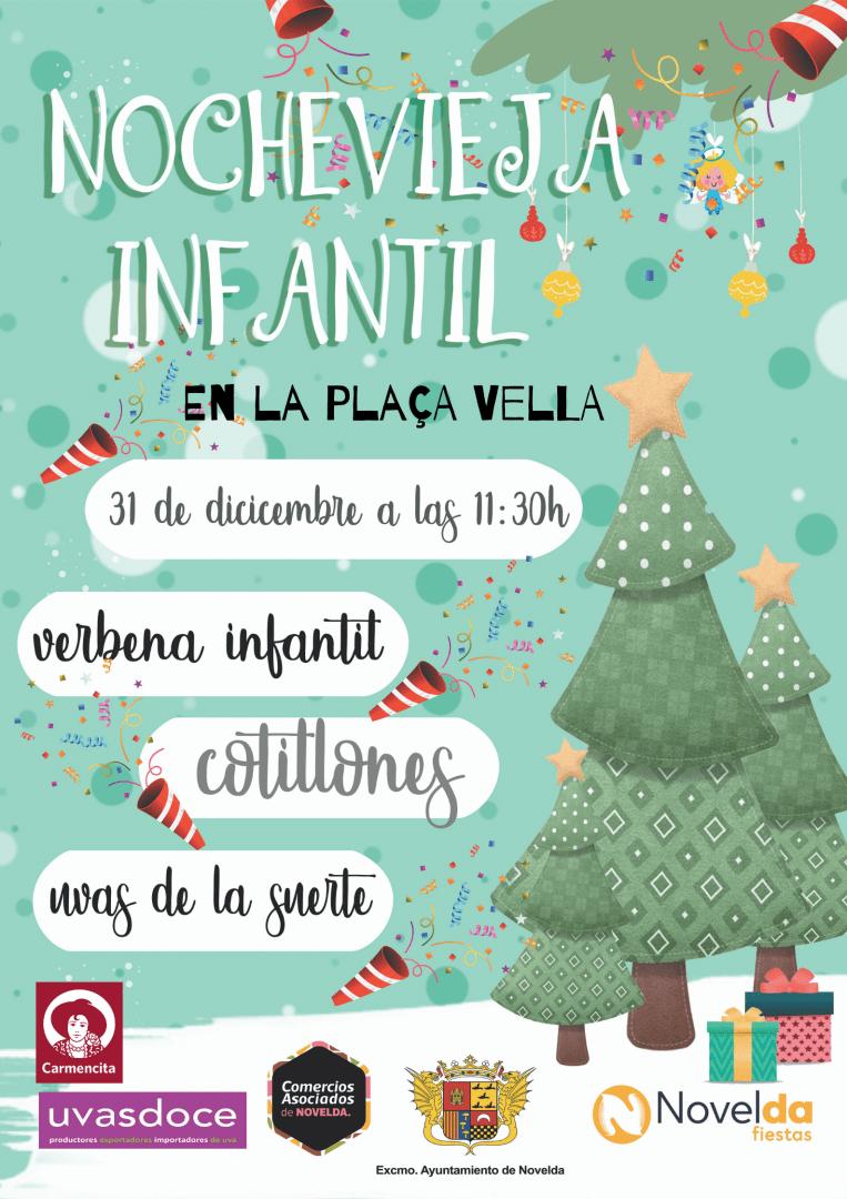 Ayuntamiento de Novelda Nochevieja-infantil Nochevieja Infantil