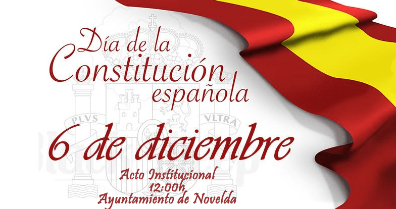 Ayuntamiento de Novelda constit-Evento Día de la Constitució