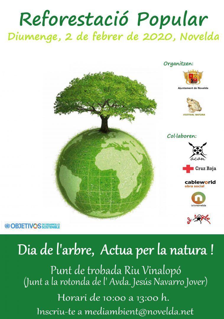 Ayuntamiento de Novelda 2020-Reforestació-2 Reforestación Popular
