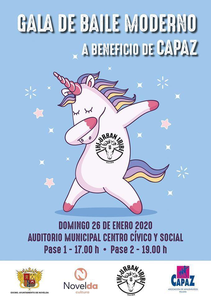 Ayuntamiento de Novelda 82515904_1027736567626231_5524107346076237824_o Gala de Ball Modern a benefici de CAPAZ