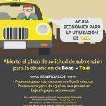 Ayuntamiento de Novelda CARTEL-BONOTAXI-150x150 Abierta la convocatoria de ayudas 2020 para el BonoTaxi