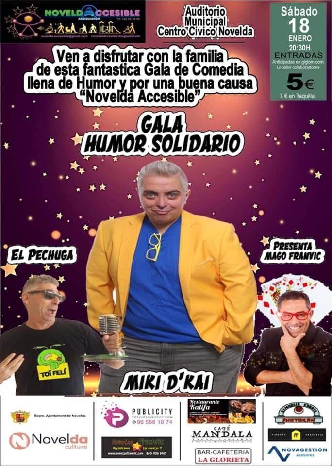 Ayuntamiento de Novelda Gala-Magia Gala Humor Solidario
