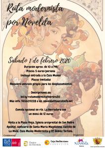 Ayuntamiento de Novelda Rutas-moderista-febrero-2020-212x300 Agenda turística