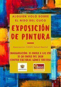 """Ayuntamiento de Novelda oasis-212x300 Exposición de Pintura """"Alguien voló sobre el nido del cuco"""""""