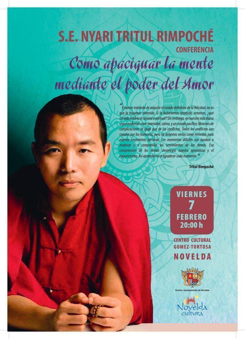 """Ayuntamiento de Novelda 0001 Conferencia """"Como apaciguar la mente mediante el poder del Amor"""""""