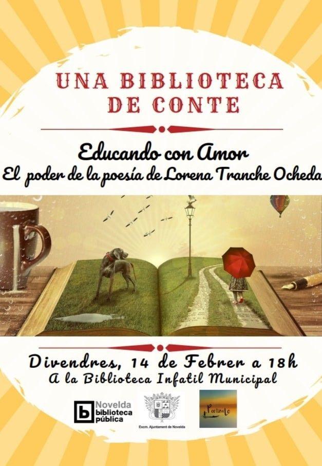 Ayuntamiento de Novelda 84353463_263895244601430_4164887232118784000_n Una Biblioteca de Conte