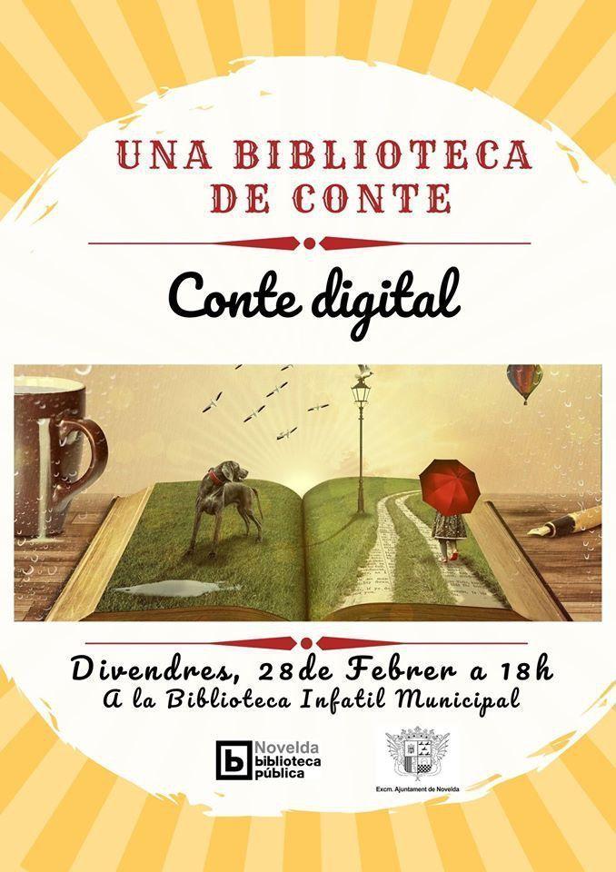 Ayuntamiento de Novelda Biblioteca-de-Conte-28-feb Una Biblioteca de Conte