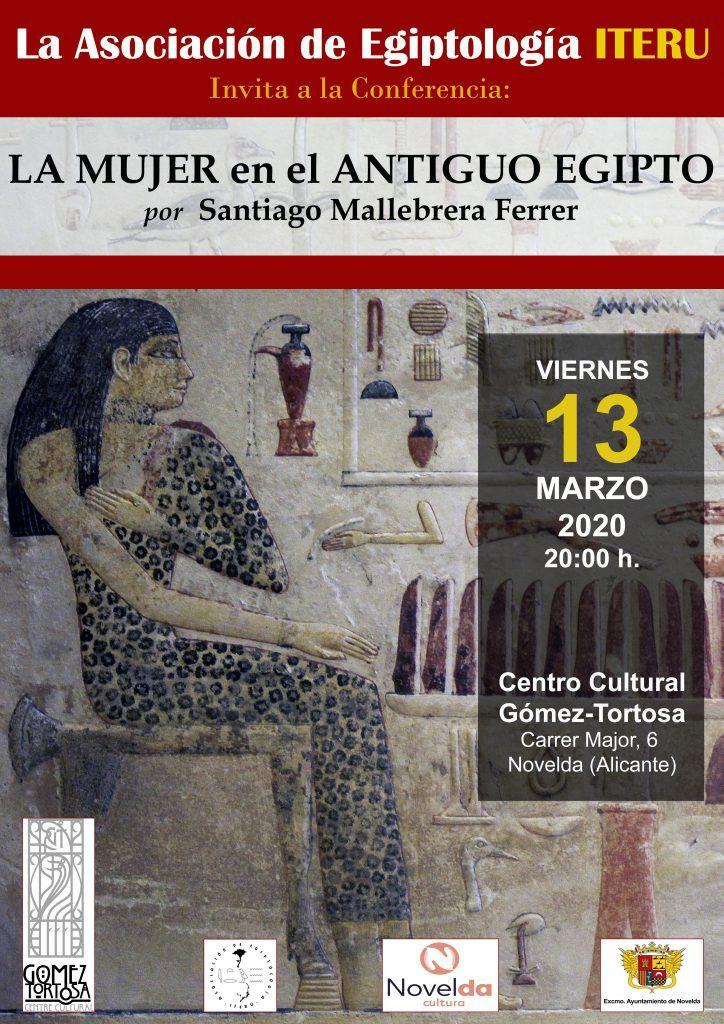 Ayuntamiento de Novelda Conferencia-Egiptología-724x1024 Del origen del Universo al Cerebro: Un viaje contado entre la ciencia y arte