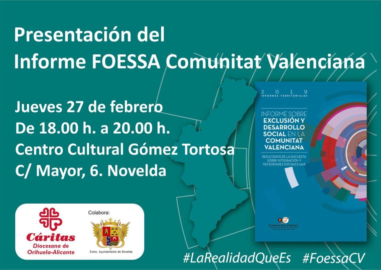 Ayuntamiento de Novelda Presentación-Informe-Foessa Presentación Informe FOESSA