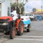 Ayuntamiento de Novelda 02-13-150x150 Els agricultors de Novelda trauen els seus tractors al carrer per a col·laborar en les tasques de desinfecció