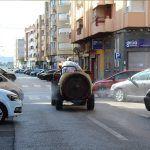 Ayuntamiento de Novelda 09-1-150x150 Los agricultores de Novelda sacan sus tractores a la calle para colaborar en las tareas de desinfección