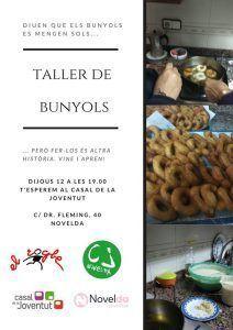 Ayuntamiento de Novelda 87417065_3210418289008475_1674091648260243456_o-212x300 Taller de Bunyols