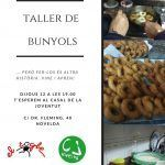 Ayuntamiento de Novelda Cartel-taller-bunyols-150x150 El Casal acoge un Taller de Buñuelos