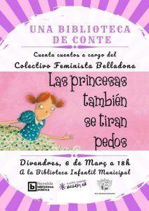 """Ayuntamiento de Novelda Cuentacuentos-Princesas-212x300 Cuentacuentos """"Las princesas también se tiran pedos"""""""