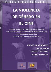 """Ayuntamiento de Novelda La-violencia-de-género-en-el-cine-212x300 Dijous Culturals """"La violencia de género en el cine"""""""