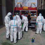 Ayuntamiento de Novelda 02-7-150x150 Bombers Forestals fan treballs de desinfecció en instal·lacions municipals