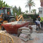 Ayuntamiento de Novelda 01-2-150x150 Se inician las obras de accesibilidad de la entrada al Polideportivo Municipal y su cafetería