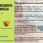 Ayuntamiento de Novelda Uso-obligatorio-mascarillas-150x150 El Ayuntamiento habilita puntos de reparto de mascarillas