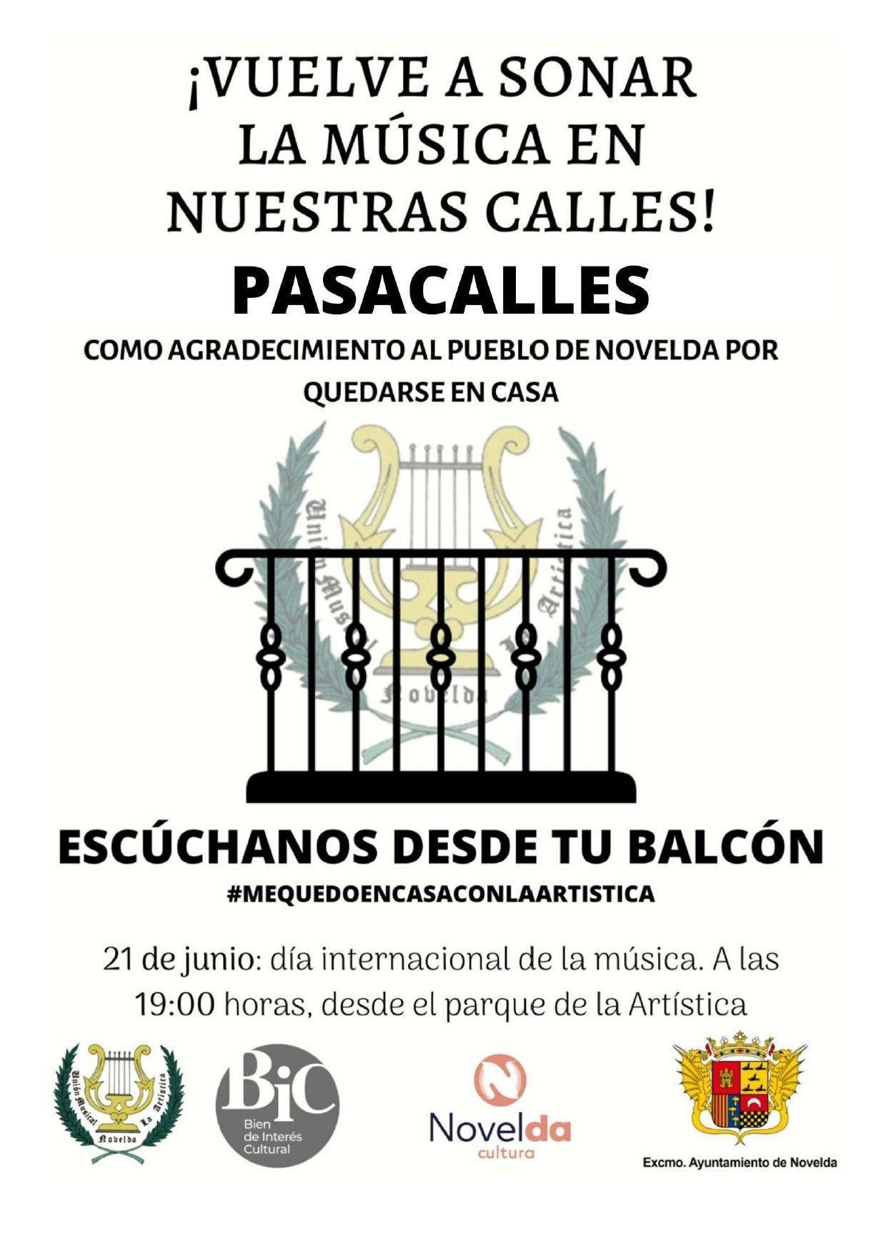 Ayuntamiento de Novelda La-Artistica_page-0001 Pasacalles La Artística Escúchanos desde tu balcón