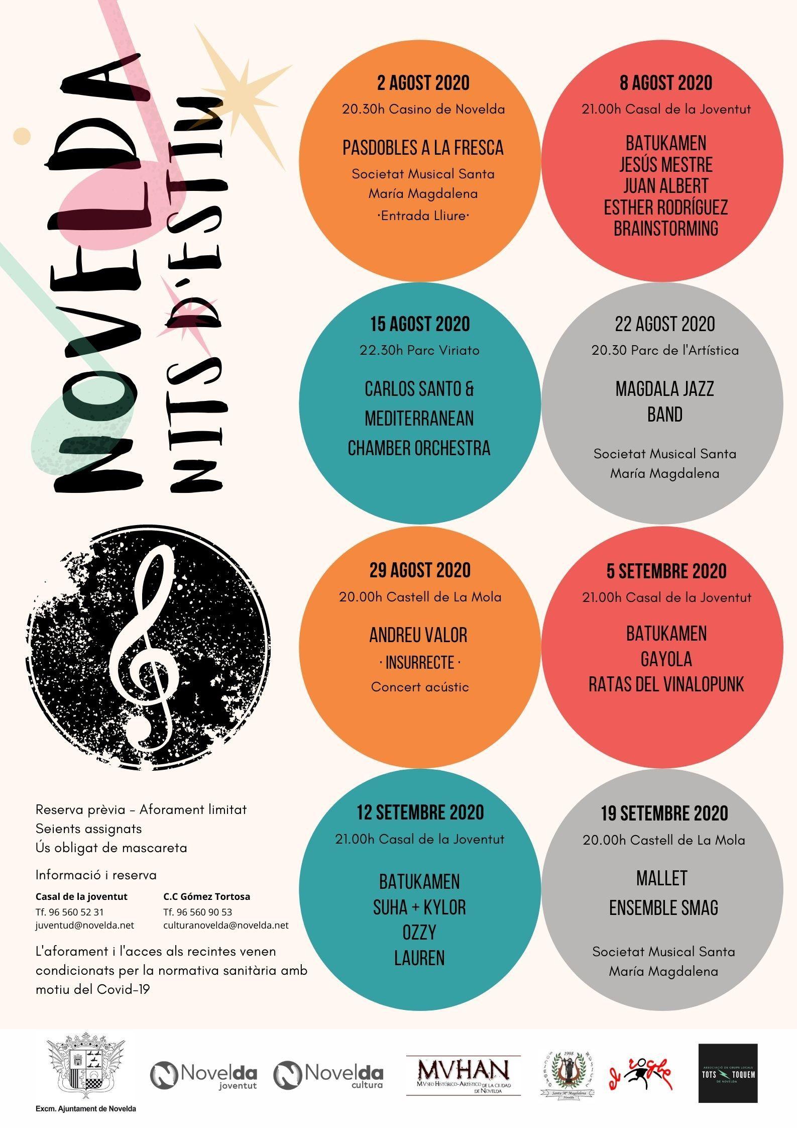 "Ayuntamiento de Novelda 05-6 ""Nits d'Estiu""Magdala Jazz Band"