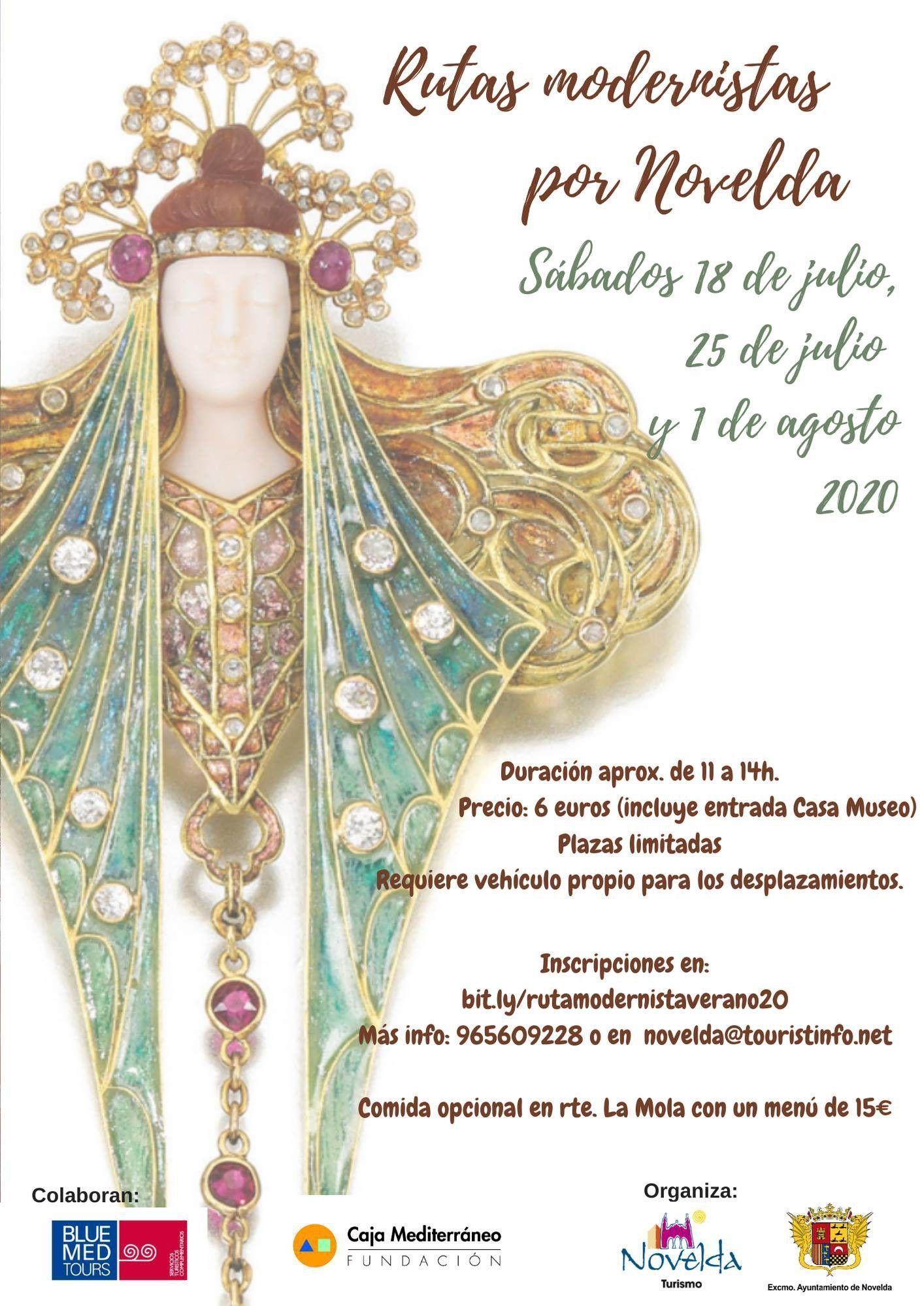 Ayuntamiento de Novelda 107882316_4219770401427097_7687809068157117102_o Rutas Modernistas por Novelda