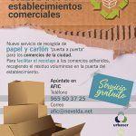 Ayuntamiento de Novelda cartel-1-150x150 Arranca el nuevo servicio personalizado de recogida de cartón  para el comercio local
