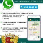 Ayuntamiento de Novelda 117175567_170316884611051_8189183798706099044_o-150x150 Cultura i Joventut posen en funcionament una llista de difusió de Whatsapp amb les activitats de Novelda