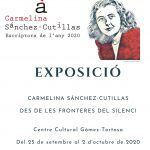 Ayuntamiento de Novelda Cartell-Exposició-Carmelina-150x150 El Centro Cultural Gómez-Tortosa acoge una exposición sobre la escritora Carmelina Sánchez Cutillas